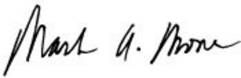Mark A. Mone signature