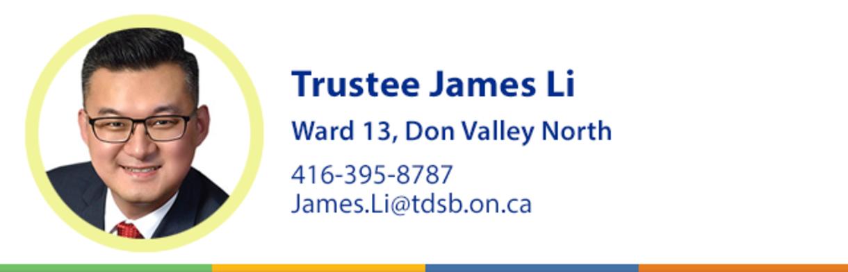 Trustee James Li Header