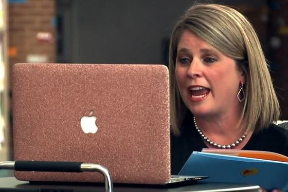 Fox Hollow Elementary Principal Ashley Gray prepares for remote learning