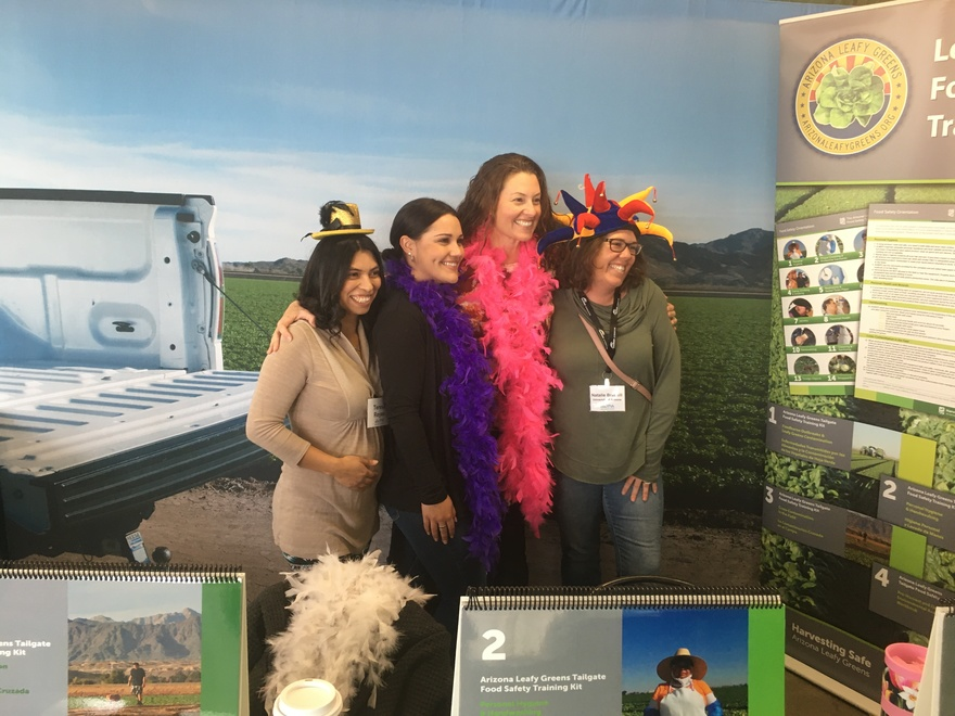 A fun photobooth at the Southwest Agriculture Summit in early March