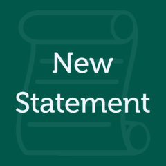 New Statement