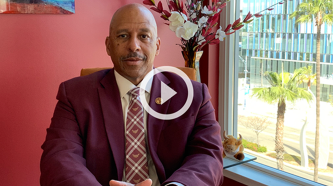 A message from President Parham on COVID-19. Click the link to view the video in Youtube.