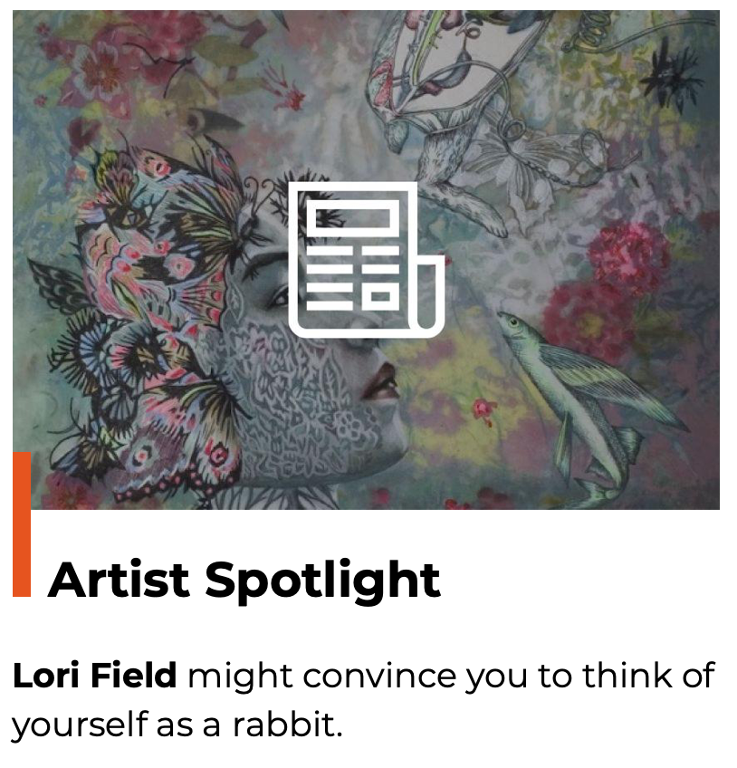 Artist spotlight on Lori Fields