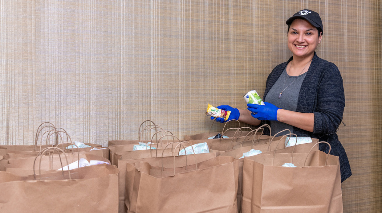Students can rely on Basic Needs Office to provide food
