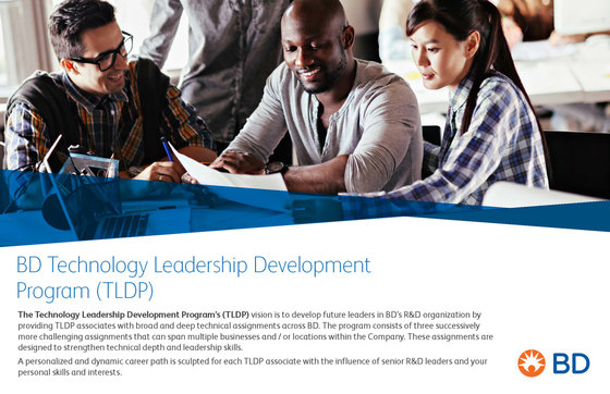 BD Technology Leadership Development Program (TLDP)