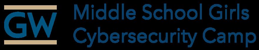 GW Middle School Girls Cyber Camp logo