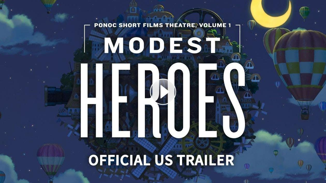 Trailer for Animezing!: Modest Heroes