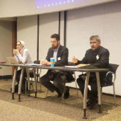 Photo from the South Regional Middle East & Islamic Studies Society workshop