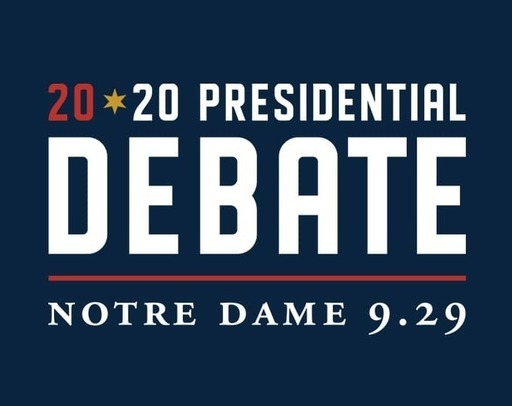 Image of the 2020 Presidential Debate logo