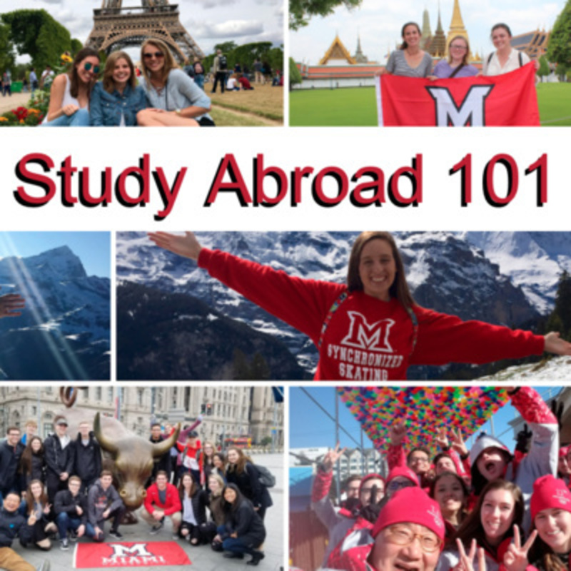 Study Abroad 101 Collage of study abroad photos