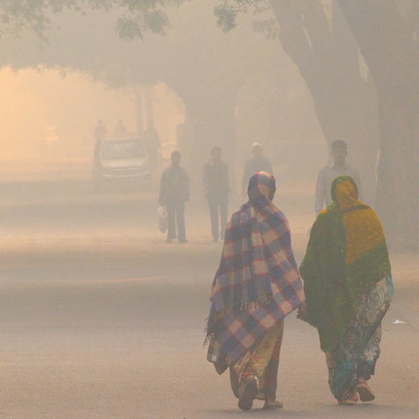 South Asia Faces Increased Double-Threat Of Extreme Heat, Extreme Pollution, Study Shows