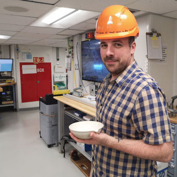 Geology And Geophysics Graduate Student Sailed On Two IODP Cruises In One Semester