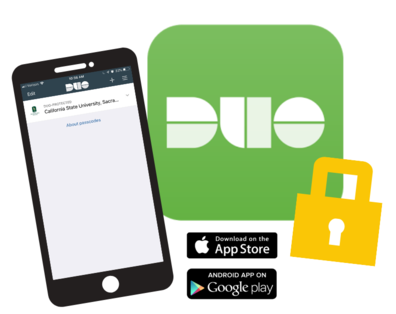Two-Step Verification with Duo web page