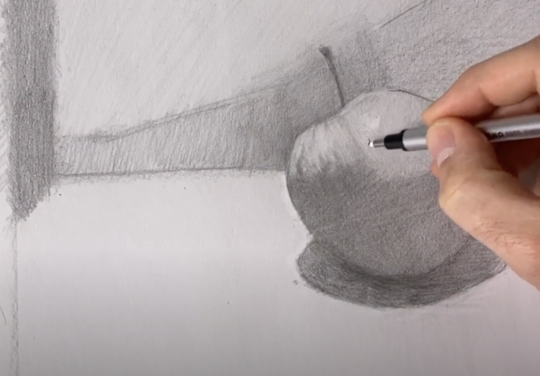 drawing virtual art class at MAM