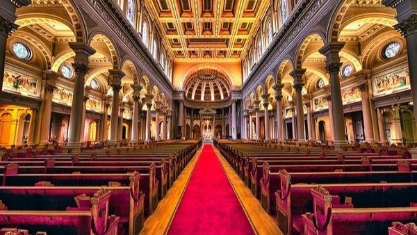 inside of St. Ignatius Church