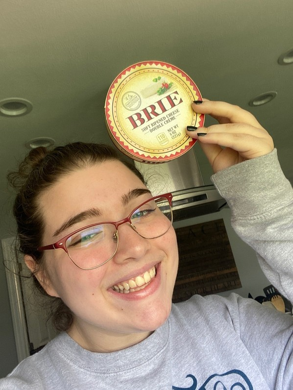 Catherine Wegman rocking the Brie