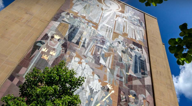 Photo of Hesburgh Library