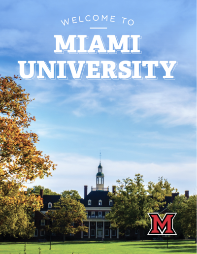Welcome to Miami University: New Student Guidebook