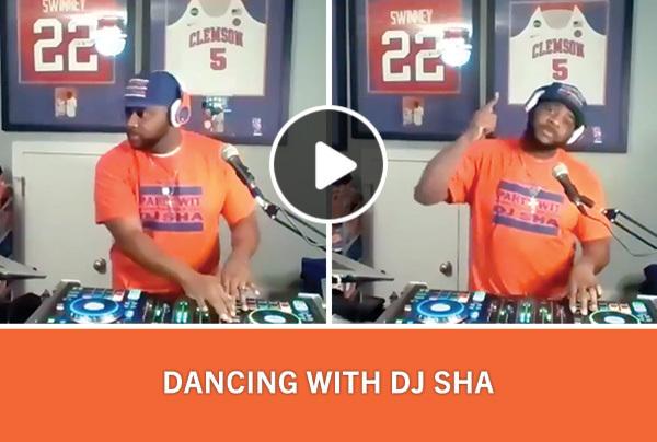 Dancing with DJ Sha