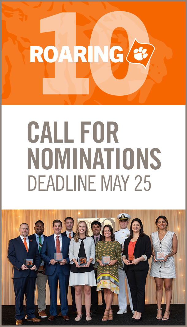 Roaring 10 Call for Nominations Deadline May 25