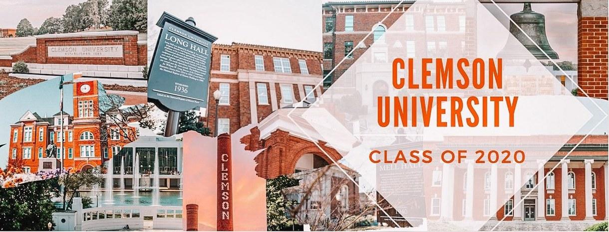 Clemson University Class of 2020 Facebook Headers