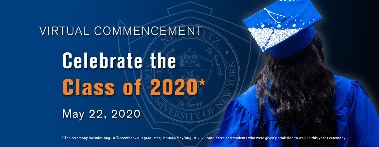 Virtual Commencement - Celebrate the Class of 2020