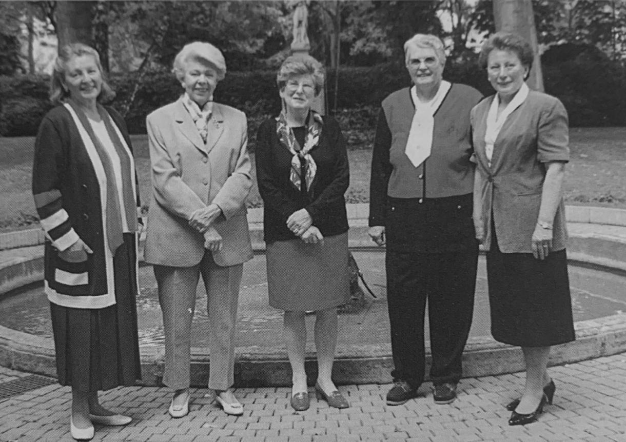 Liz Prost, Jaquot Pfeiffenschneider, Maisy Dumont, Anne Steinmetz, and Maga Erpelding