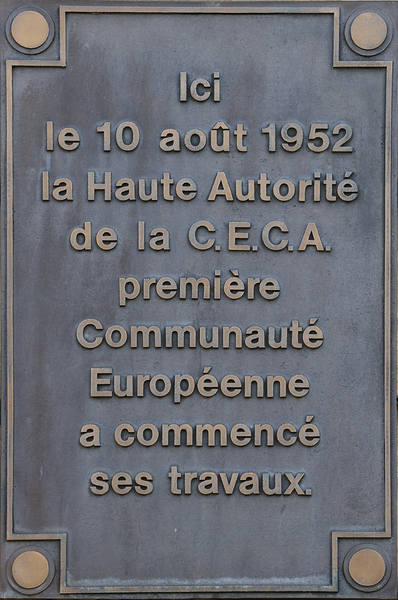 ECSC Plaque