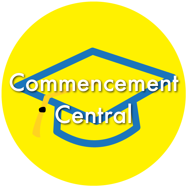 Click here to access Commencement Central