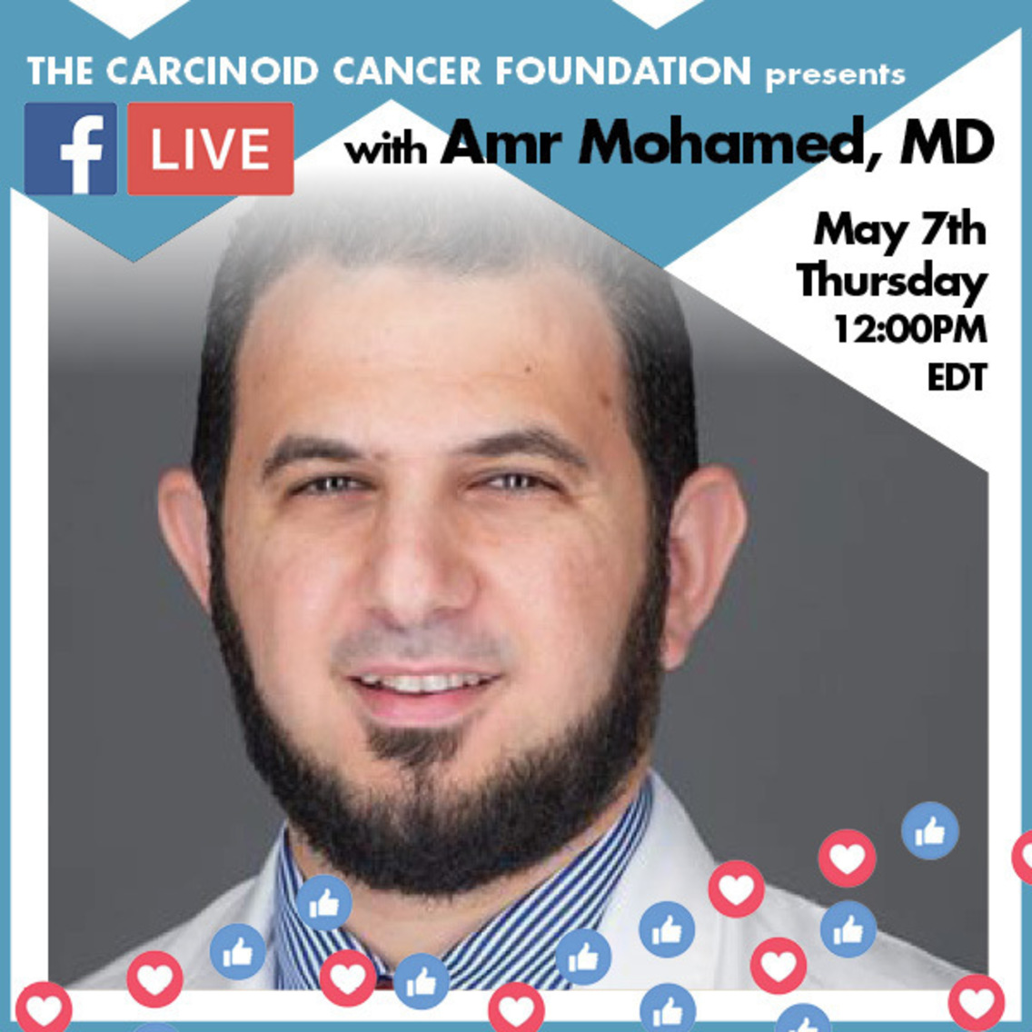 COVID-19: Facebook Live with Dr. Amr Mohamed