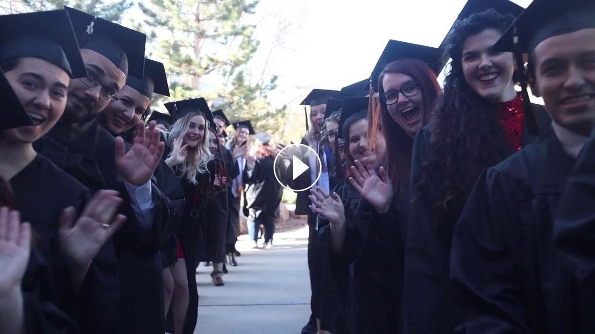 President Wyatt Offers Encouragemetn to Graduating Class