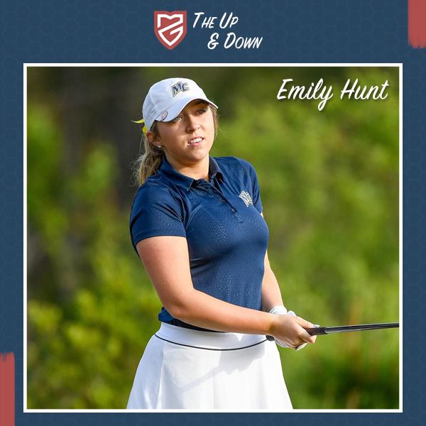 Hunt's First Year In Women's Collegiate Golf