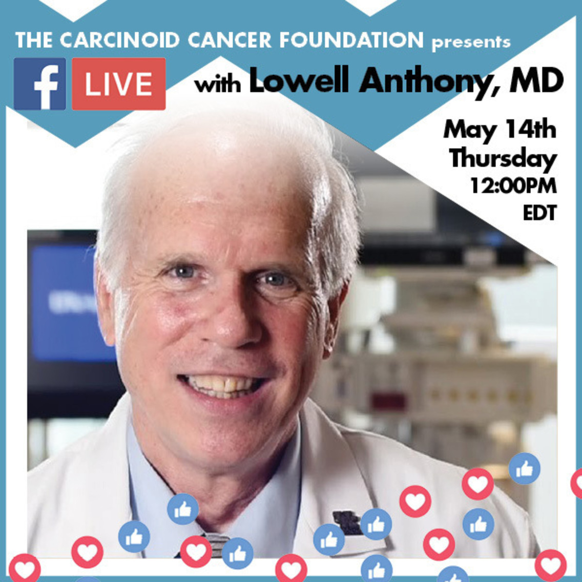 Facebook LIVE with Dr. Lowell Anthony