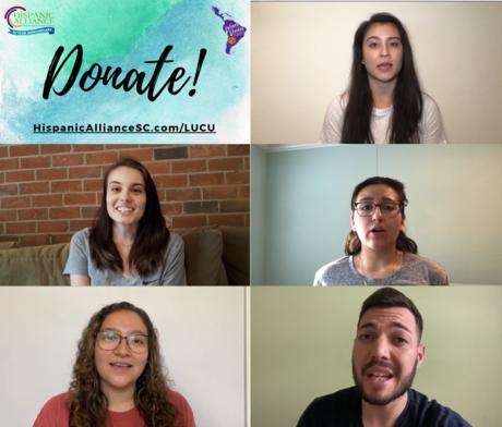 Donate! Hispanicalliancesc.com/lucu