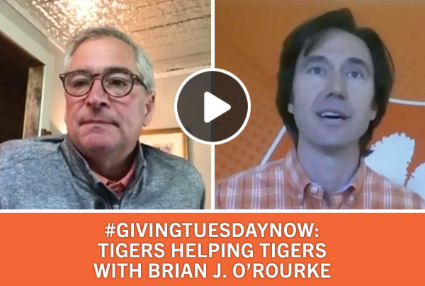 #GivingTuesdayNow Tigers Helping Tigers with Brian J. O'Rourke