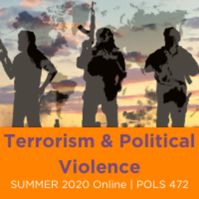 Terrorism and Politcal Violence Course poster