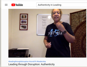 Leading through Disruption: Authenticity