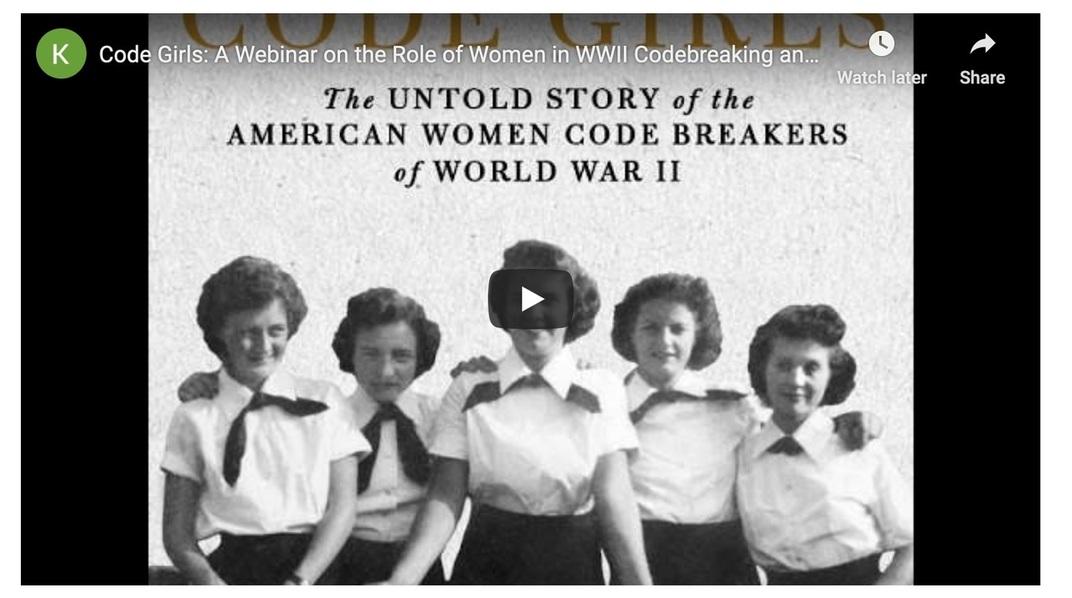 Code Girls webinar