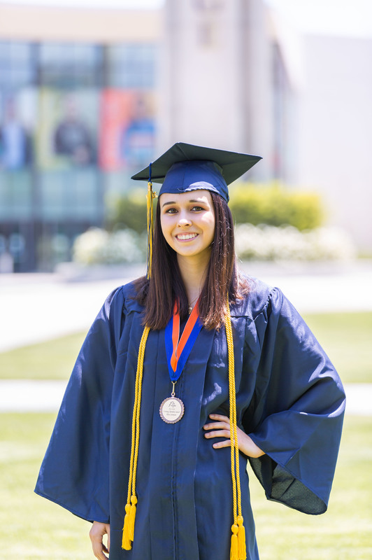 Elise Cunanan, 2020 Outstanding Graduate