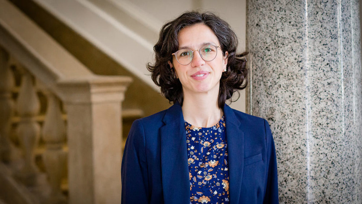 Photo of Silvia Dall'Oliom executive director of the Rome Global Gateway.
