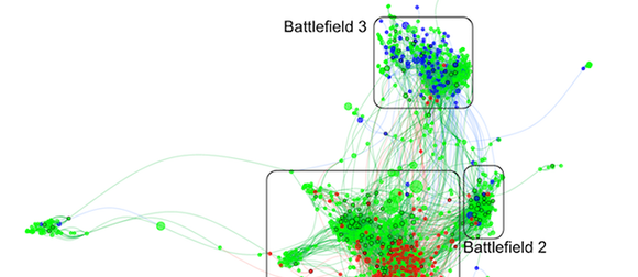 map of online community spread