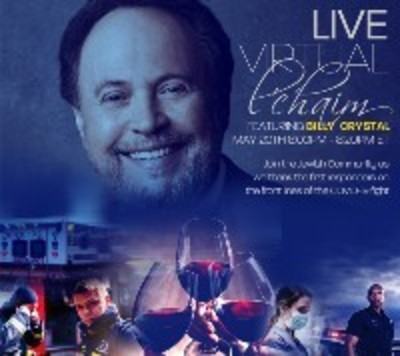Billy Crystal, wine glasses and first responders