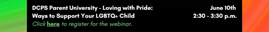 Parent University - Loving with Pride