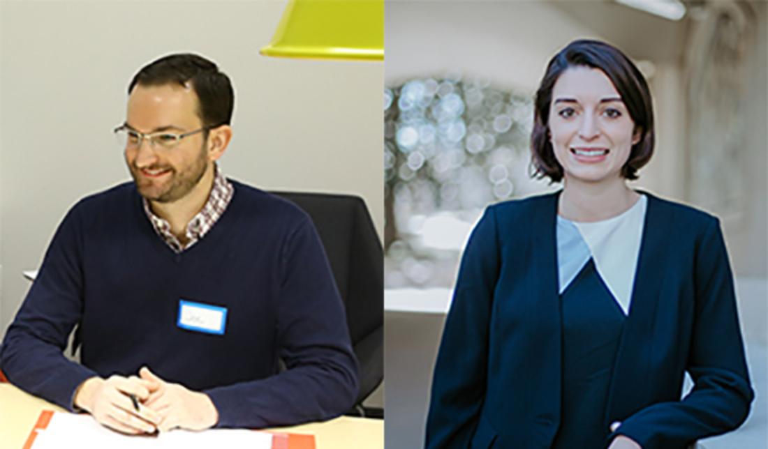 2020 grads Joe Sandford and Willoe DeFuccio named Gideon's Promise Fellows