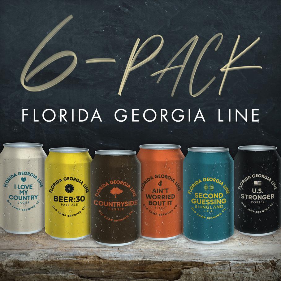 Florida Georgia Line - 6-Pack EP