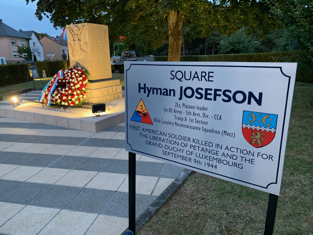 Square Hyman Josefson in Petange