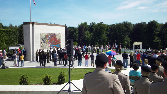 Memorial Day Ceremony in a previous year