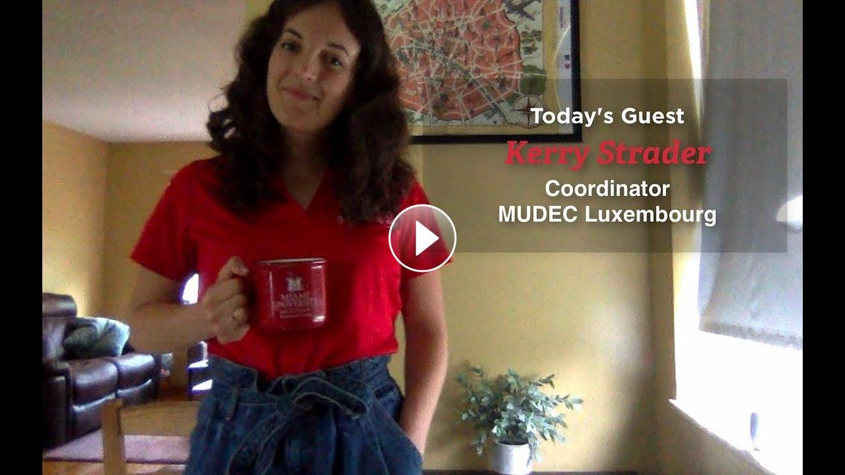 Good Morning Miami, with Kerry Strader, Coordinator, MUDEC Luxembourg