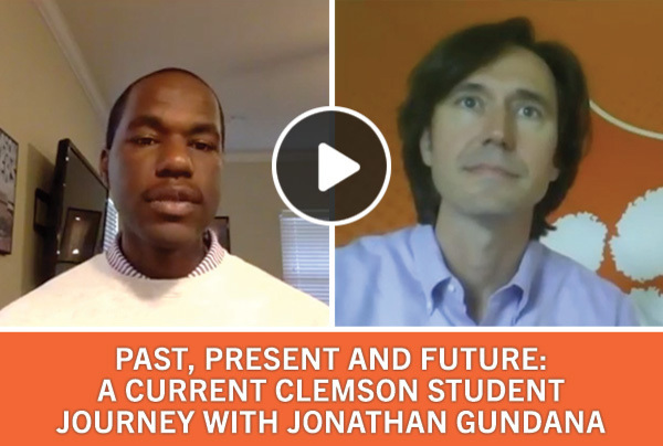 Past, Present and Future: A current Clemson student journey with Jonathan Gundana '21