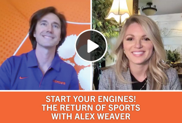 Start Your Engines! The Return of Sports with Alex Weaver